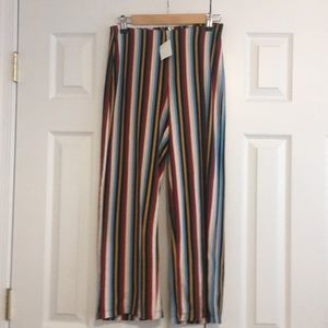 New Urban outfitters stripped pants